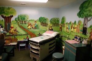 Gassy Fork pediatric room