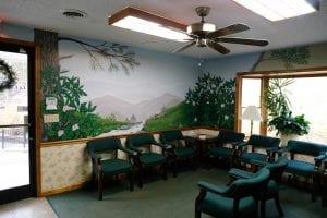 Grassy Fork waiting room
