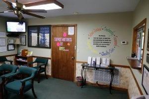 Grassy Fork Center Waiting Room